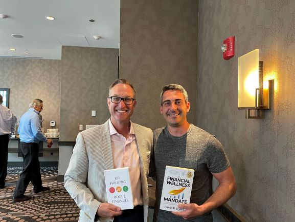 Daniel Bryant with fellow friend and author: Joe Holberg